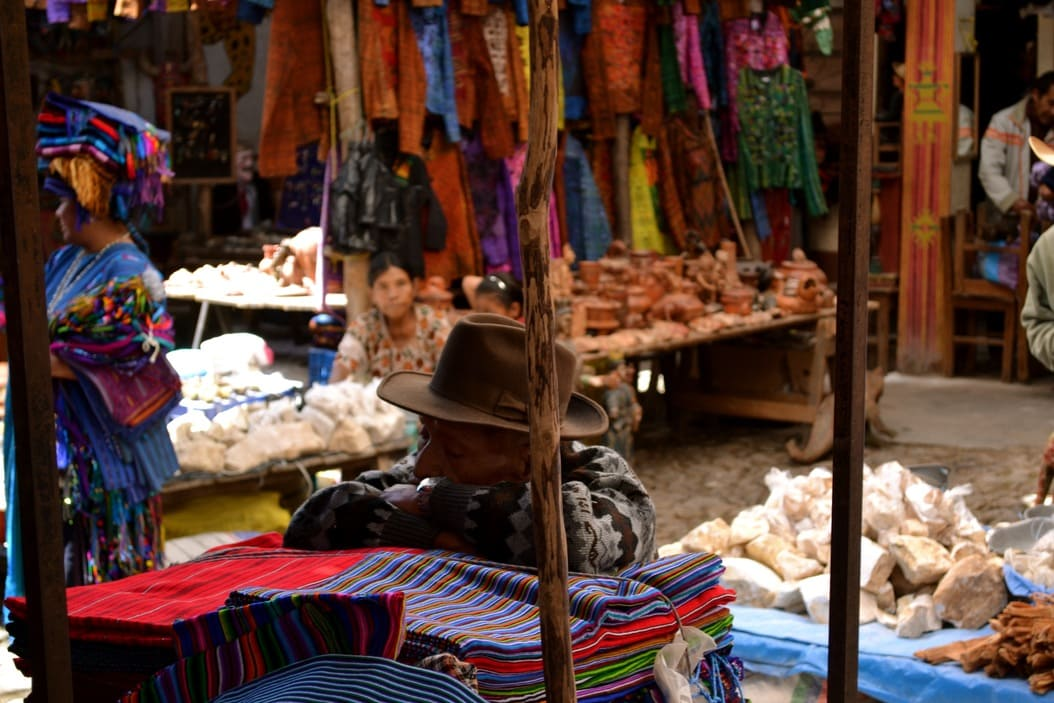 Chichicastenango - guatemala - marche 2