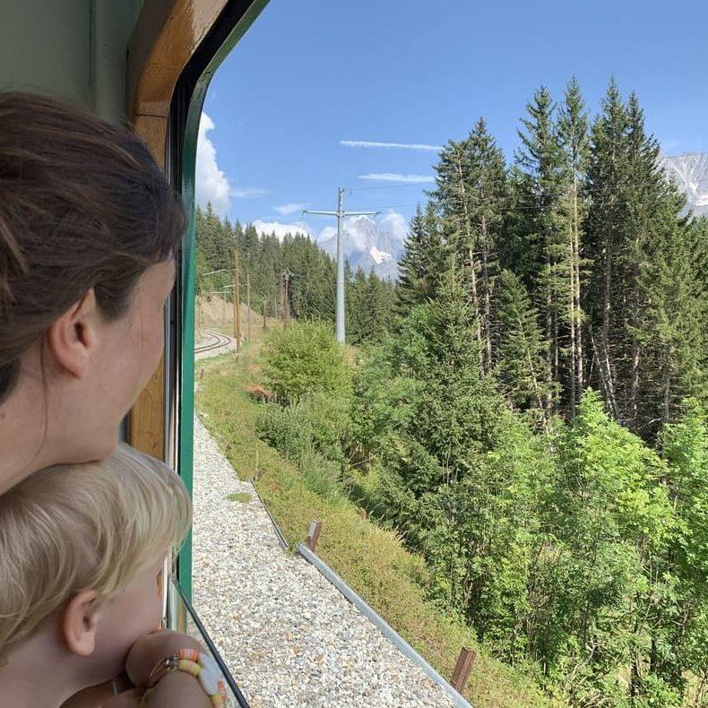 Tramway du Mont Blanc 5 - Saint Gervais - France