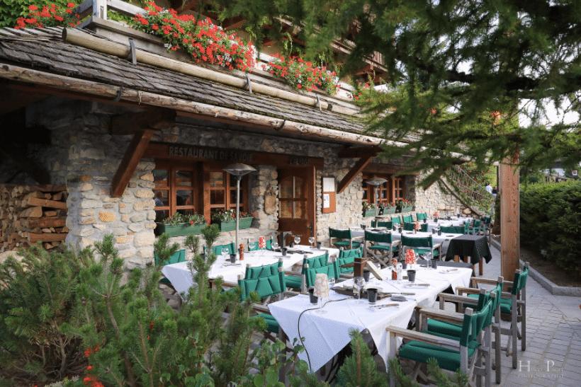 alpage restaurant - megeve - france - 4