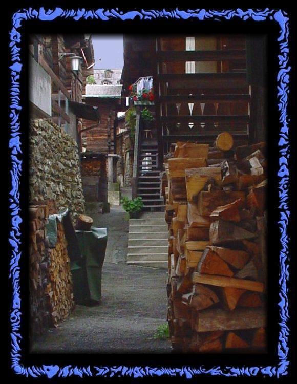 The village of Binn - Valais Switzerland