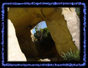 Ein ehemaliger, römischer Steinbruch