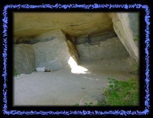 In der Emma Kunz Grotte