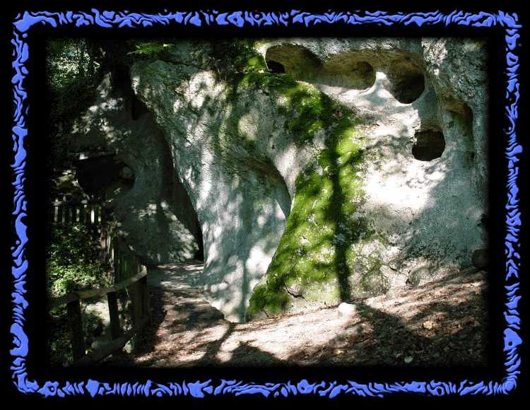 Verwinkelte Wege in der Ermitage