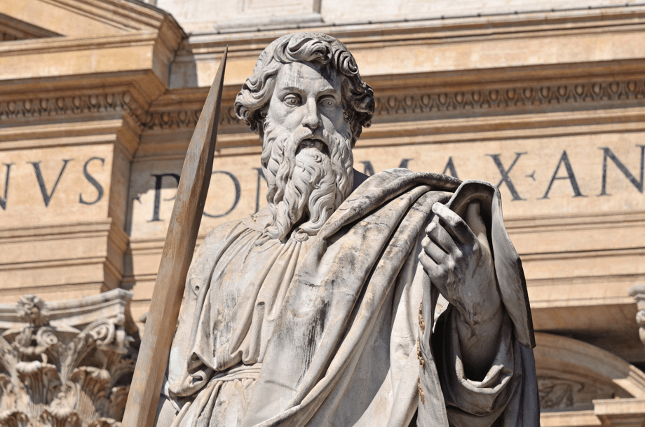 The apostle Paul at St. Peter