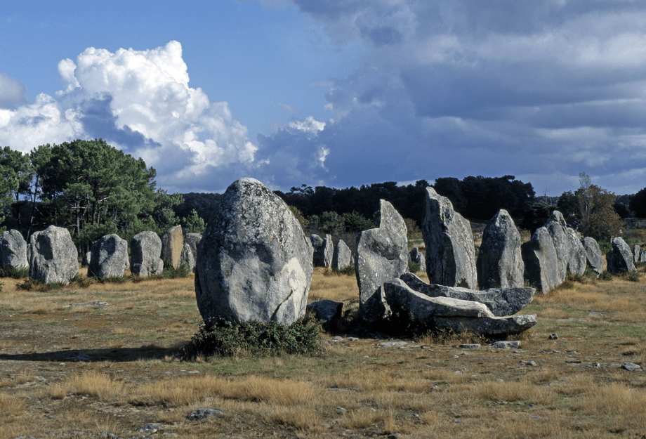 The Carnac Menhires - Obelix says hello...