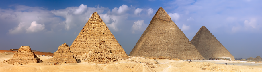 Die Cheops Pyramide in Gizeh