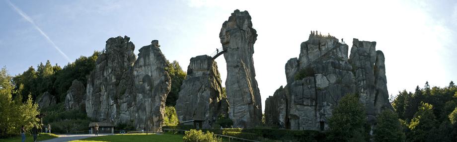 Externsteine im Teutoburger Wald