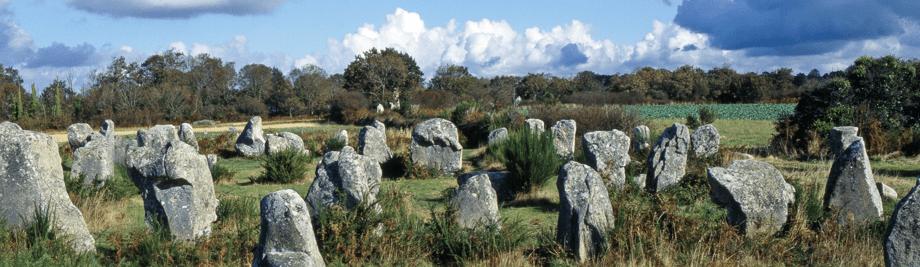 Menhire von Carnac - Frankreich