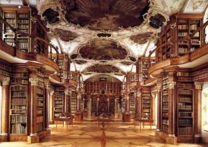 Bibliothek in der Stiftskirche St. Gallen