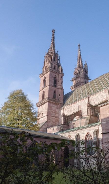 Basler Münster - Bischofssitz