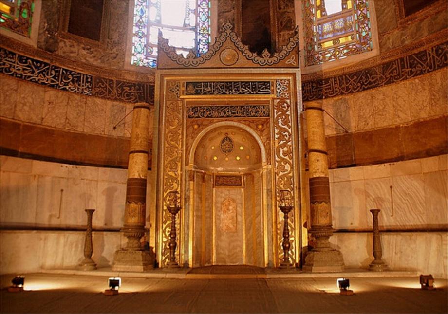 Altar in der Hagia Sophia