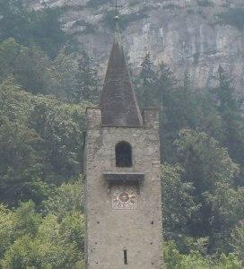 freistehender Glockenturm - Kapelle von St. Niklausen