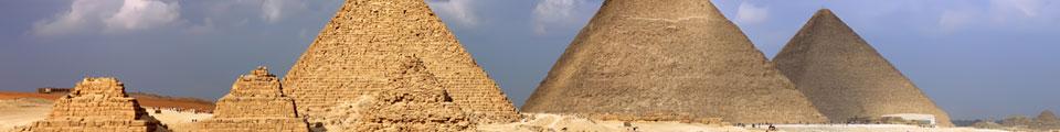 Magic Place - Pyramids of Giza - Egypt