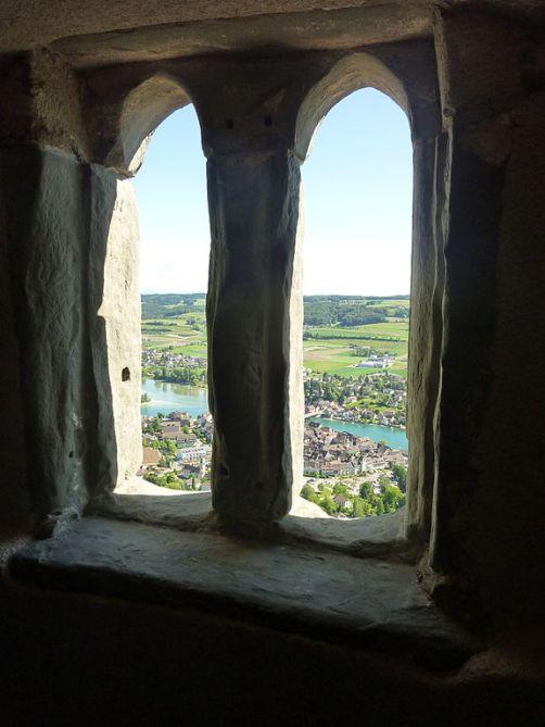 Hohenklingen mit Sicht auf Stein am Rhein