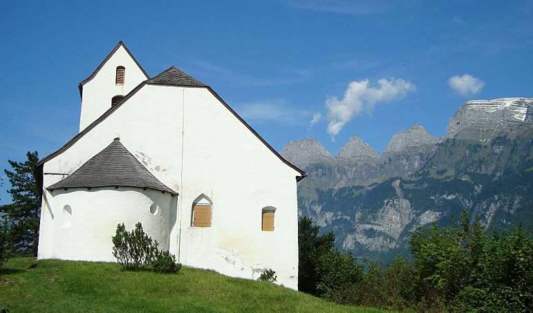 Kapelle Sankt-Georg mit Apsis