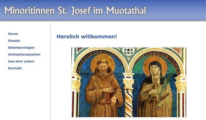 Minoritinnen St. Josef im Muotathal