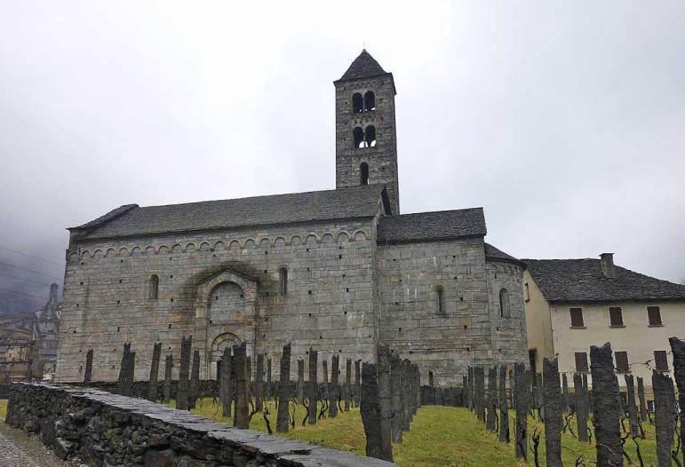 San Nicola in Giornico im Tessin