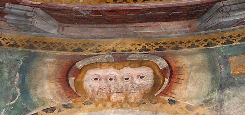 Trivultus in der Kirche San Nicolao in Giornico