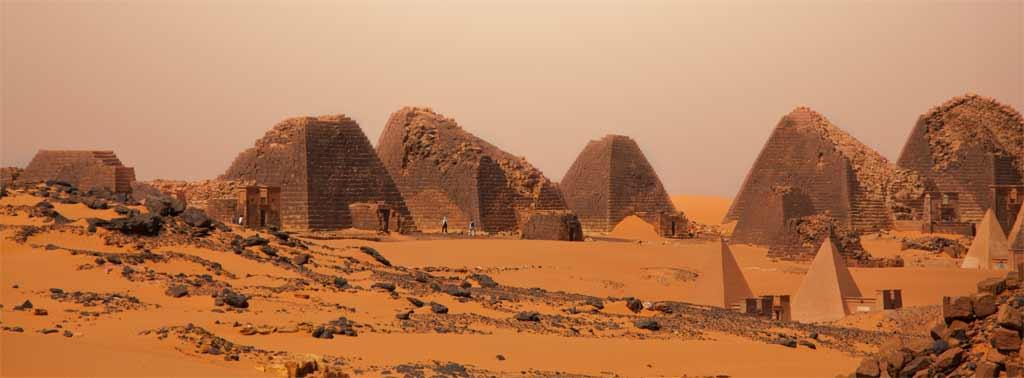 Pyramiden von Meroe - Sudan