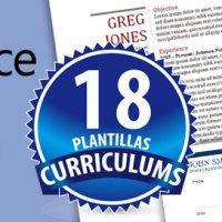 18 Plantillas Editables Curriculums en formato Word