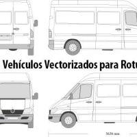 Más de 6.000 Plantillas Vectorizadas para Rotulación de Vehículos