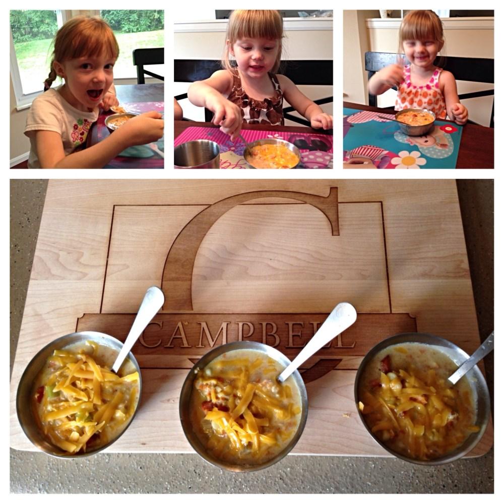 Recipe: Veggie Corn Chowder (A #100DaysCookbook Review) (2/3)