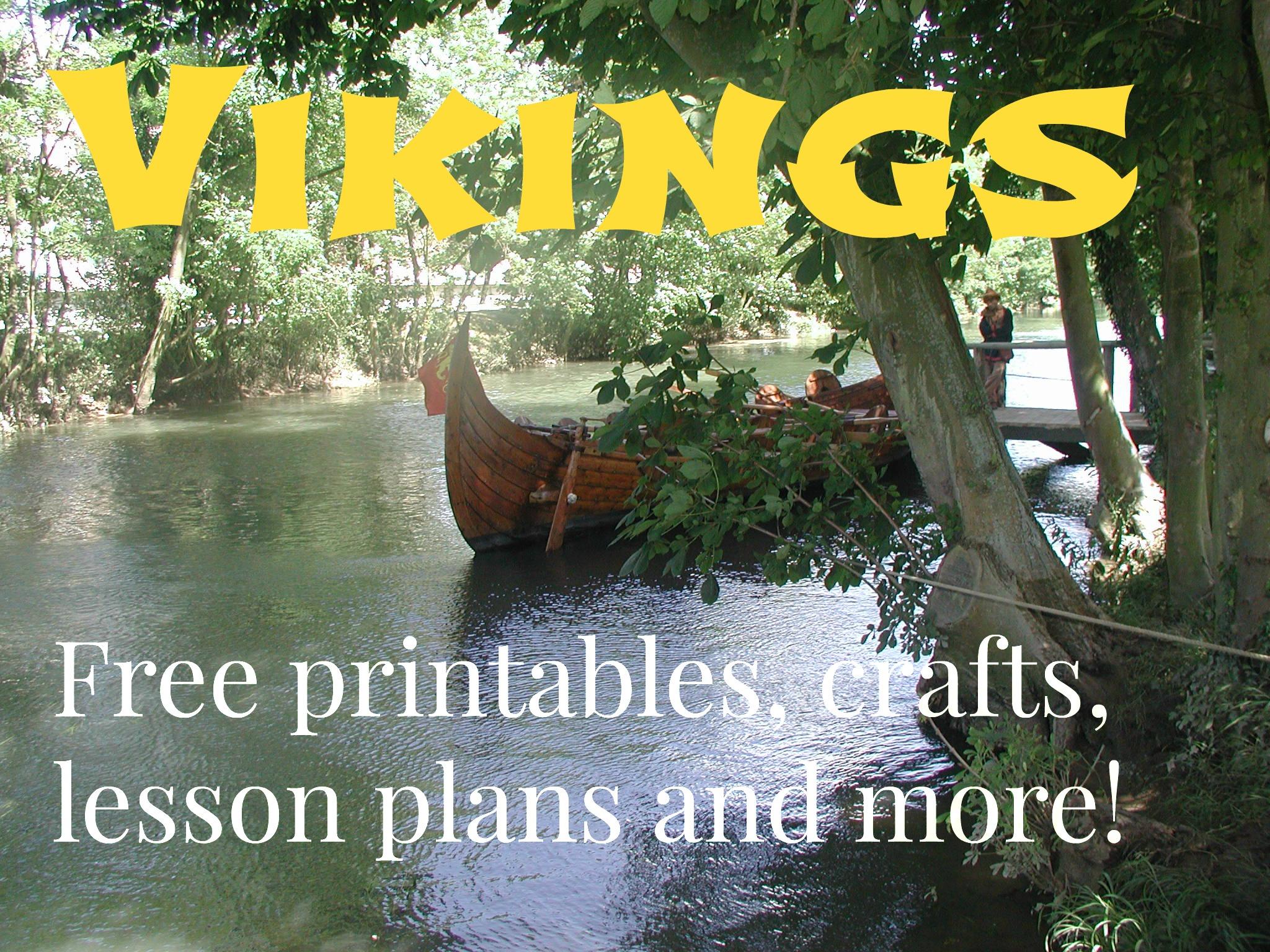 Viking Homeschool Free Printables Crafts Lesson Plans