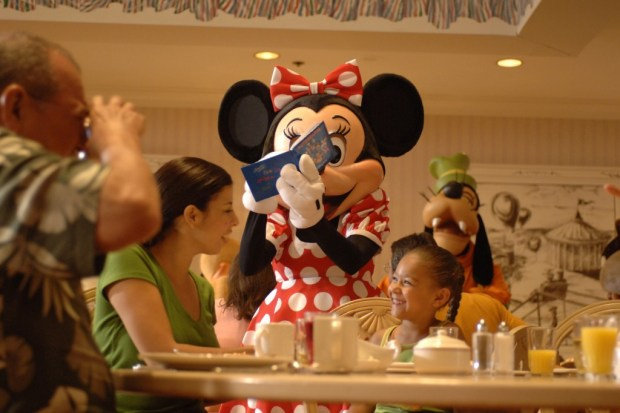 Character Dining - Photo by Disney
