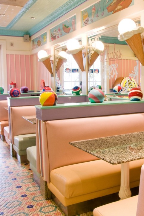 Beaches & Cream Table Service Restaurant; Photo by Disney