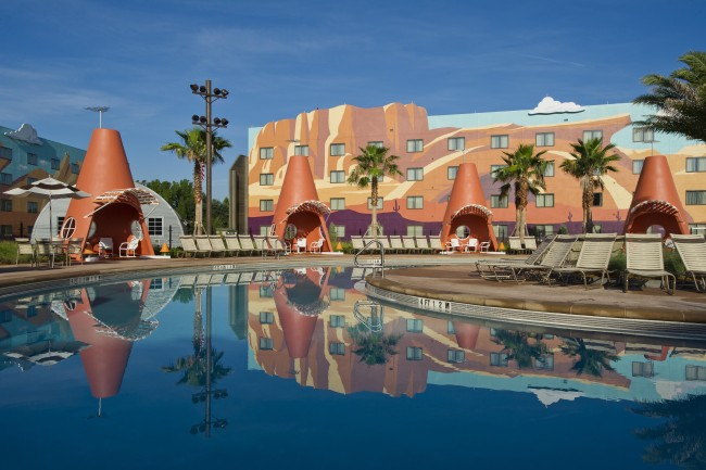 Cozy Cone Pool - Photo by Matt Stroshane/Disney