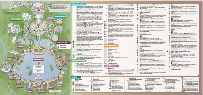Food & Wine map 2