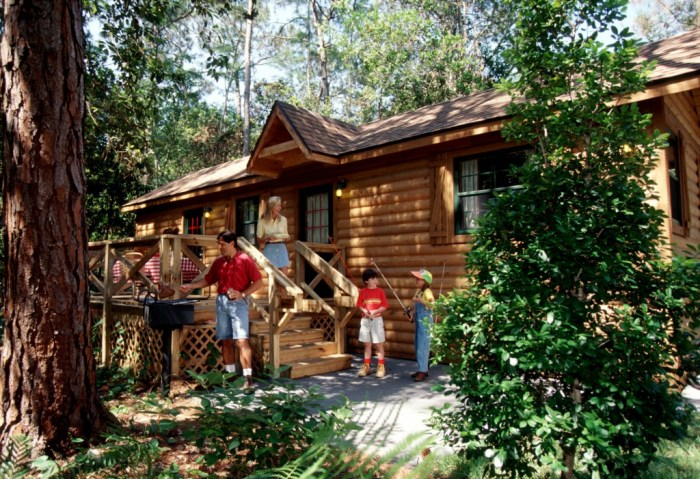 Fort Wilderness Resort Cabins - Photo by Disney