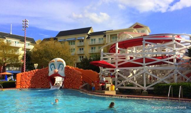 Luna Pool - Boardwalk