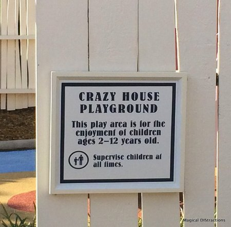 Crazy House Playground Rules