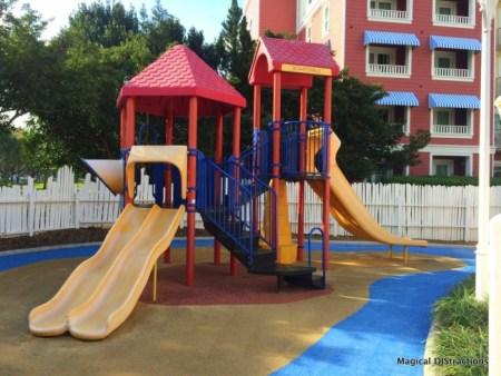 Crazy House Playground Slides