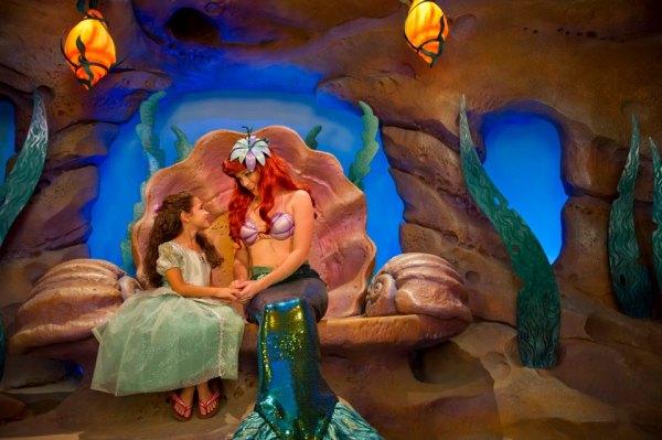 Ariel's Grotto - Photo by Disney Destinations