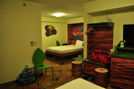 LK Murphy bed, Art of Animation Resort