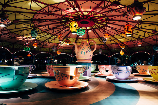 Mad Tea Party - Photo by Justin Connors