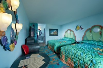 Interior of The Little Mermaid standard rooms