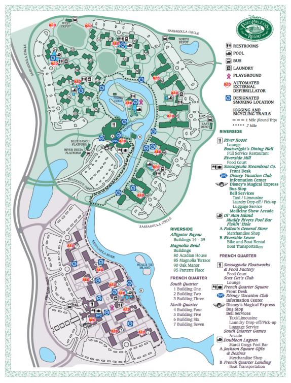 Port Orleans Resort - French Quarter & Riverside