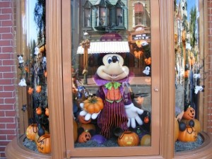 Window displays on Main Street