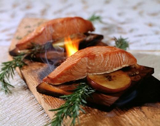 Artist Point Cedar Plank Salmon - Photo by Disney