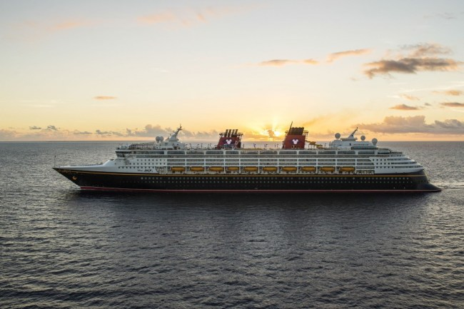 The Disney Magic at Sea