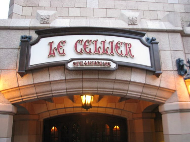 Le Cellier is located in the Canadian Pavilion in Epcot