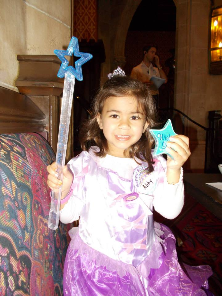 Princess with her Wand and Wishing Star