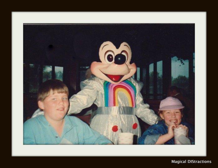 Caroline Whiddon Knowles & Brent Whiddon, Walt Disney World circa 1987.