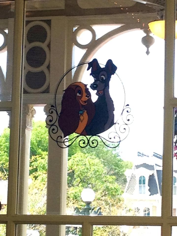 Lady & The Tramp window