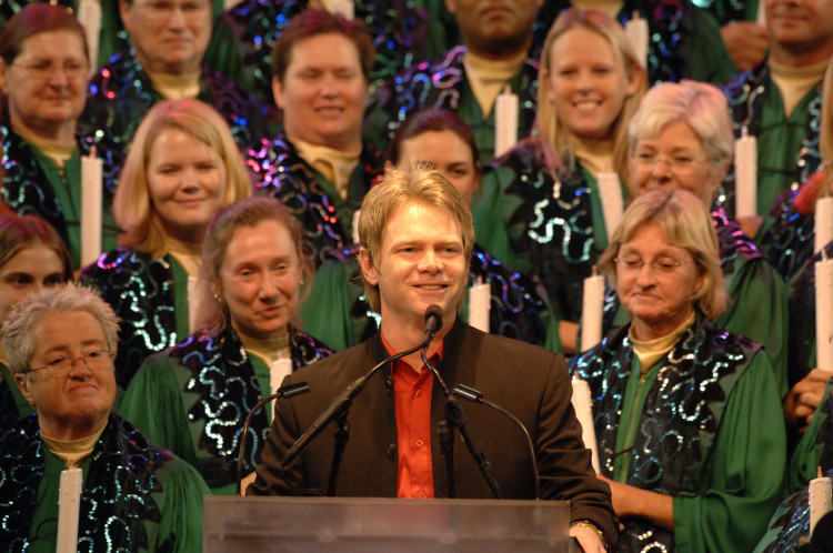 Celebrity Narrator, Steven Curtis Chapman. Photo by Disney Parks