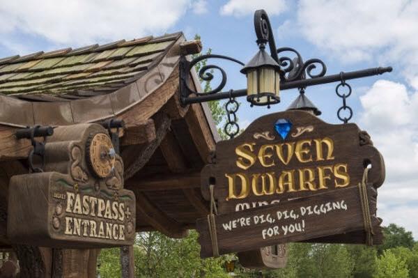 Seven Dwarfs Mine Train - Photo by Dawn Puerto