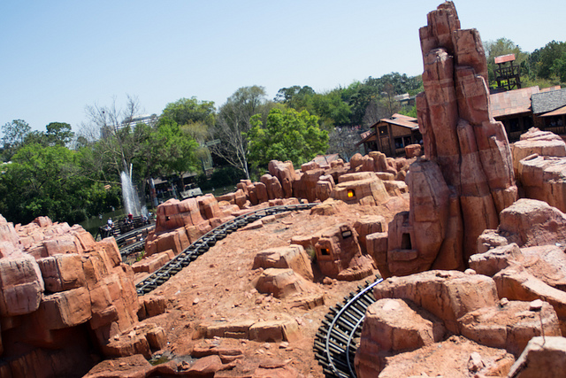 Great Thunder Mountain Railroad - Photo by Justin Connors